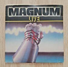 """MAGNUM  -  LIVE  -  2 x 7"""" SINGLES"""