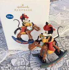 "Hallmark 2010 Disney Mickey Mouse ""Two-Gun Mickey"" In Box"