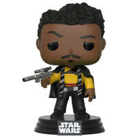 Funko Pop! Lando Calrissian Star Wars Solo vinyl bobble head toy unopened NEW