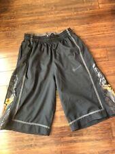 Kobe Bryant Nike Dri-Fit Mamba Kb24 Basketball Shorts Size X Large Black/Gold Xl