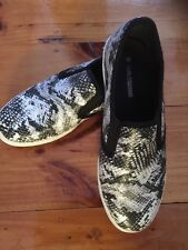 GIRL EXPRESS Snake Print Size 8 Shoes/ Slip Ons/ Casual Shoes