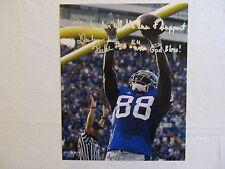 Kansas Jayhawks Football #88 WR Autographed Photo with COA Bubba Sportz