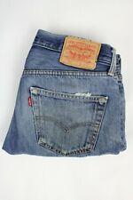 Mens Vintage LEVIS 501 Denim Jeans W31 L32 Regular Straight Leg Blue