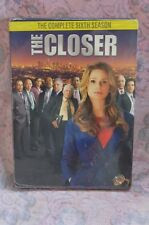 The Closer: The Complete Sixth Season (DVD, 2011, 3-Disc Set)