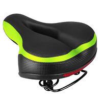 Extra Wide Big Bum Soft Comfort Bike Bicycle Cycling Saddle Seat Cushion Pad