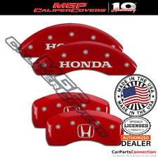 Mgp Caliper Brake Cover Red 20225shohrd Front Rear For Honda Accord 2018 2020