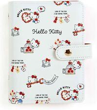 Sanrio Hello Kitty 6 Ring Binder Agenda 2022 Schedule Book Planner