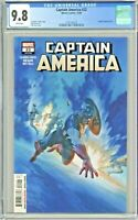 Captain America #22 CGC 9.8 1st First Print Edition Alex Ross Cover Legacy #726