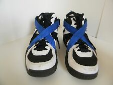Mens Nike Air Raid Black /White Game Royal Shoes 642330-014 Size 10.5