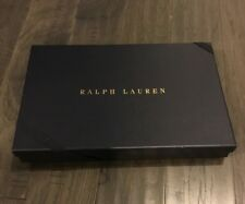 Polo Ralph Lauren Navy Blue Gift Box with Ribbon 15.5� X 10� X 2�