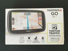 "TomTom GO 60 6"" Automotive Mountable GPS w/OEM Mount & Charger Updated 06/02/20"