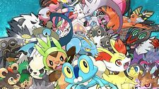 Pokemon - Amazing - Huge Poster  22 x 34 inch  ( Fast Shipping )  in Tube 152