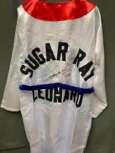 Sugar Ray Leonard Signed Boxing Robe Autographed AUTO PSA/DNA COA