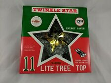 Twinkle Star Tree Top 11 Lights McCrory Corp Works