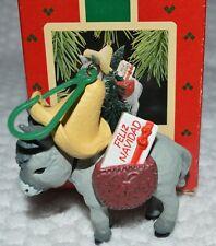 Hallmark Feliz Navidad ornament 1988 original box