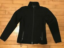 Ibex Women Ciimawool Black Soft Shell Merino Jacket Small