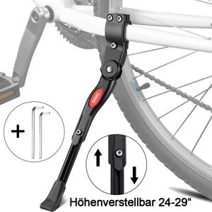"""Fahrradständer Seitenständer 24 26 28 29"""" Zoll Verstellbar Hinterbauständer"""