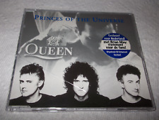 QUEEN PRINCES OF THE UNIVERSE CD ENHANCED WAS IT ALL WORTH IT VIDEO MERCURY MAY
