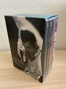 Queen & Freddie Mercury _ The Definitive DVD Collection _ 9 CD BoxSet RARE Italy