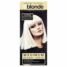 Jerome Russell BBlonde Blonde Toner Colour Platinum Non Permanent 75ml