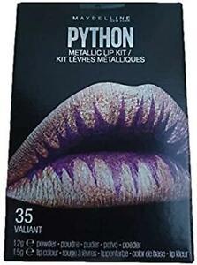 Maybelline Python Metallic Lip Kit Makeup (35 Valiant) 1.2g + 1.5g