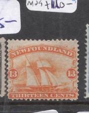Newfoundland 1868 13c Boat SG 29 MOG (8dhb)