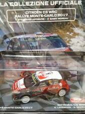 Modellino Auto Macchina Rally Monte-Carlo n 8 Citroen C3 WRC 2017 1:43