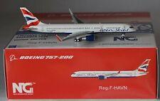 NG Model 53127 Boeing 757-230 British Airways F-HAVN in 1:400 scale