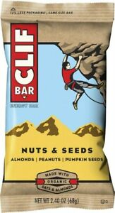 Clif Bar Original: Nuts and Seeds, Box of 12