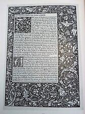 MORISON Art de l'Imprimeur 250 Repro des + Beaux Spécimens TYPOGRAPHIE 1925