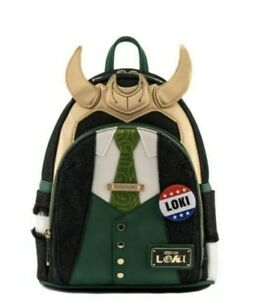 Loungefly 2021 NYCC MARVEL President Loki  Cosplay Mini Backpack In Hand!