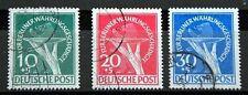 Gestempelte Briefmarken aus Berlin (1948-1949) mit BPP-Signatur