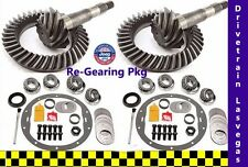 Jeep Cherokee 1984 to 2001 Re Gearing Package Front and Rear w Kits 4.56 Ratio