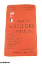 MANUAL FOR SOLDIERS IN FRANCE.