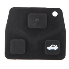 3 Buttons Remote Key Repair Kit Case Fob Button Pad Rubber for Toyota Avens Y2O7