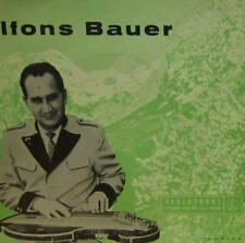 "Alfons Bauer(7"" Vinyl)The Happy Zither-Parlophone-GEP 8858-UK-1961-Ex/Ex"