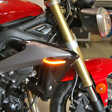 Triumph Street Triple Front Turn Signals - New Rage Cycles