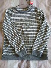 Blue & White Striped Long Sleeve Pyjama Top Size S,Bnwt