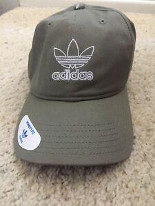 Adidas Womens Originals Baseball Cap Legacy Green White Hat EV7652 OSFW