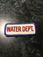 City of Tampa Florida Mascotte Sanitation Iron-On Vintage Embroidered Clothing Patch Employee Uniform Shoulder Emblem Collectible Keepsake