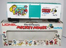 Lionel Model Train Freight Car Mickey Mouse Express Alice in Wonderland 6-9670