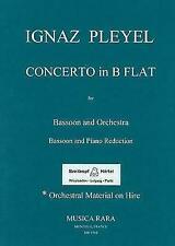 75  Weber Bassoon Concerto in F major Op Carl Maria von  vocal//piano sc 75 op