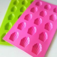 15 holes Madeleine Silicone Cake Baking Mold Pan Shell Cookie Chocolate DIY Mold