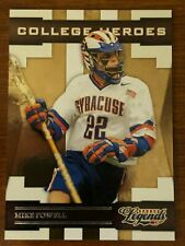New listing Mikey Powell - Syracuse Lacrosse - College Heroes card
