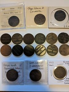 SHIPS COLONIES AND COMMERCE TOKENS