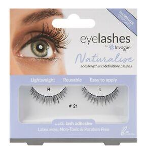 Invogue Naturalise False Eyelashes #21