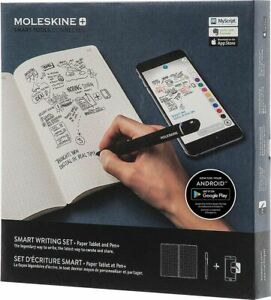 Moleskine Pen+ Ellipse Smart Writing Set Pen &  Smart Notebook (Factory SEALED)