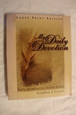 My Daily Devotion by Stephen J. Carter (2000, Hardcover, Large Type)