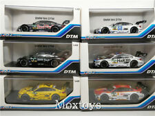 BMW M4 DTM Race Diecast Model Car Scale 1/43