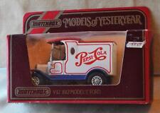New Original 1984 MATCHBOX Yesteryear 1912 FORD T Y-12 Red Scale 1:35 England